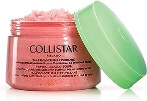 COLLISTAR Talasso Exfoliating Scrub Firming Detoxifying Salts with Essential Oils of Cherry Maxi Jar 700 gr