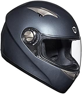 Royal Enfield Grey Full Face Helmet Size (M)58 CM (RRGHEC000004)