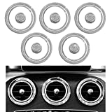 1797 Compatible AC Vents Caps for Mercedes Benz Parts Accessories Bling Trim Air Conditioner Covers Decals...