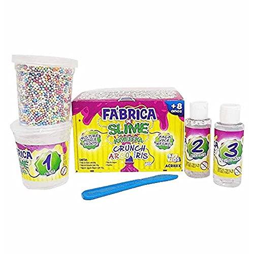 Kit Para Fazer Slime Da Acrilex Kimeleca Arco Iris, Acrilex