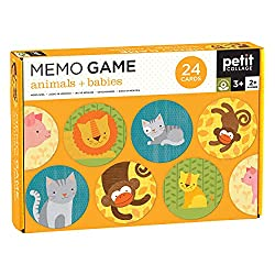 Petit Collage Memory Game. Best Games for 2 Year Olds
