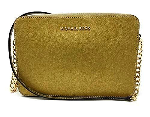 Michael Kors Women's Jet Set Item Crossbody Bag (Old Gold)