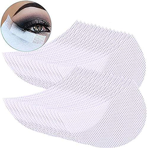 PRENKIN 10pcs / 50pcs / 100pcs Non-tissés à Usage Unique Ombre à paupières Autocollant Tapis de Protection beauté Maquillage cosmétiques