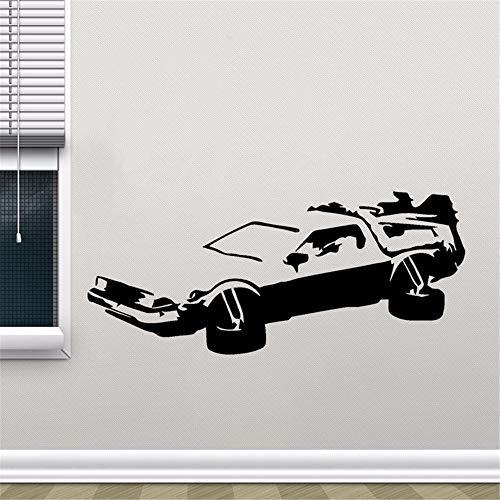 Etiqueta De La Pared Hotmeini Car Jdm Styling Window Bumper Body Delorean Regreso Al Futuro Marty Mcfly Doc Brown Decor