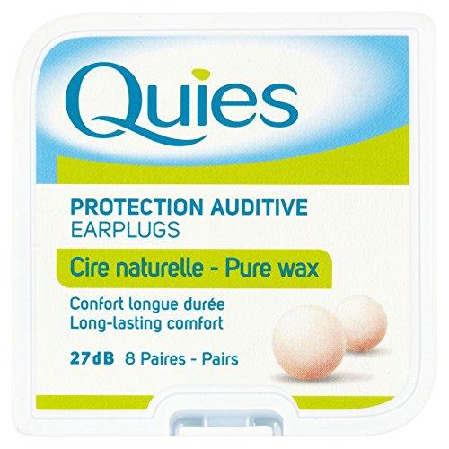 12 x Quies Boules Nat Wax Earplugs by Quies