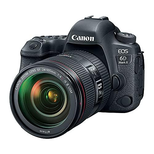 Câmera Fotográfica Eos 6D Mark II e Lente 24-105mm Canon