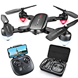Zuhafa T5 Foldable GPS Drone with 4K FHD Camera for Adults,RC Quadcopter with GPS Return Home,5Ghz WiFi Transmission Live Video,40 Minutes Flight Time, Long Control Range, Includes Carrying Bag