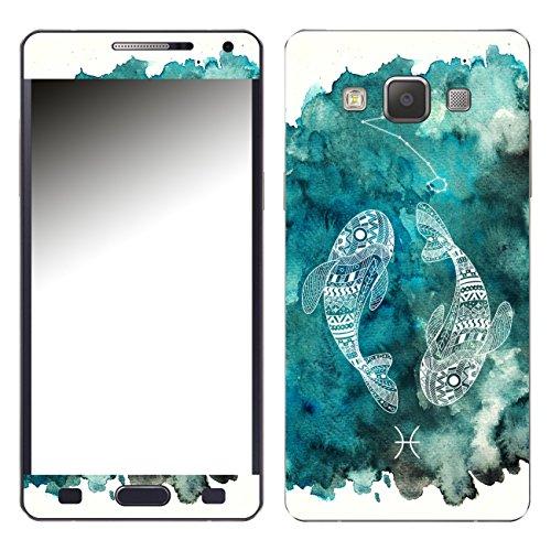 DISAGU SF-106241_1240 Design Skin für Samsung Galaxy A5 (2015) - Motiv Sternzeichen - Fische