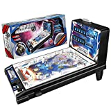 Pinball Game, Black A Classic Vintage, Arcade Style Tabletop Pinball Game for Kids and Adults, Pinball Machine
