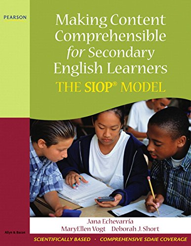 Making Content Comprehensible for Secondary English...