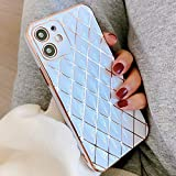 OWM iPhone 11 Case Silicone [Quilted Designer Back]
