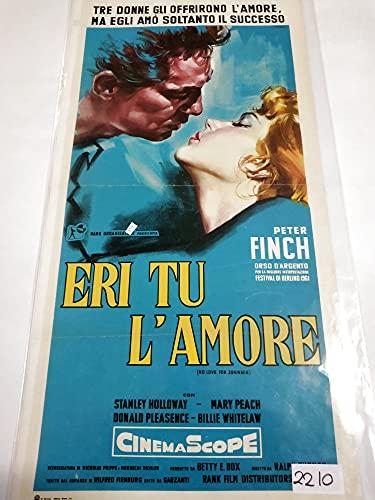 Locandina - Eri tu amor - Ralph Thomas - Peter Finch