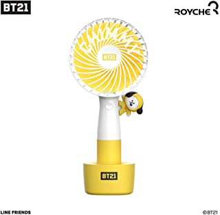 【BT21 公式】 BT21 x Linefriends LED 扇風機 CHIMMY/ハンディー扇風機/ROYCHE/BTS グッズ