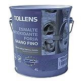 Tollens 8730 Esmalte para Metales, Gris Acero, 4 l