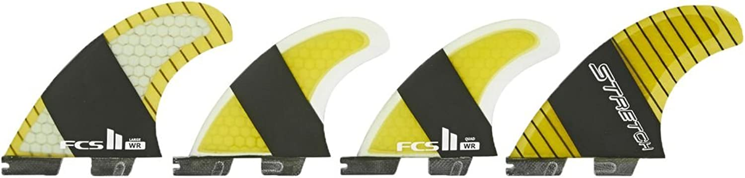 FCS II SF4 WR Stretch Quad Fin Set  Large