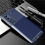KABIOU Funda de fibra de carbono para Xiaomi Mi Note 10 Lite Redmi 9 9A 9C Note 9S 8T 8 Cubierta del teléfono Poco F2 Pro Pocophone F1 Mi 9T A3 Max 3, azul, para Redmi Note 8T