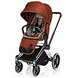 Cybex Priam Stroller, Lux Seat- Autumn Gold Denim