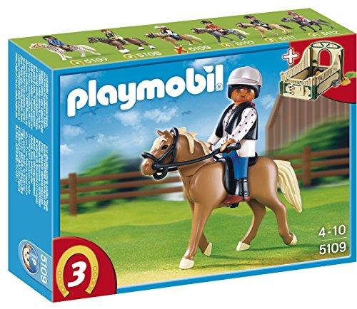 PLAYMOBIL - Haflinger con establo