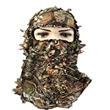 Artensky Camouflage Haube 3D Tactical Militär für Ghillie Anzug Ghilly Jagd Airsoft Paintball...