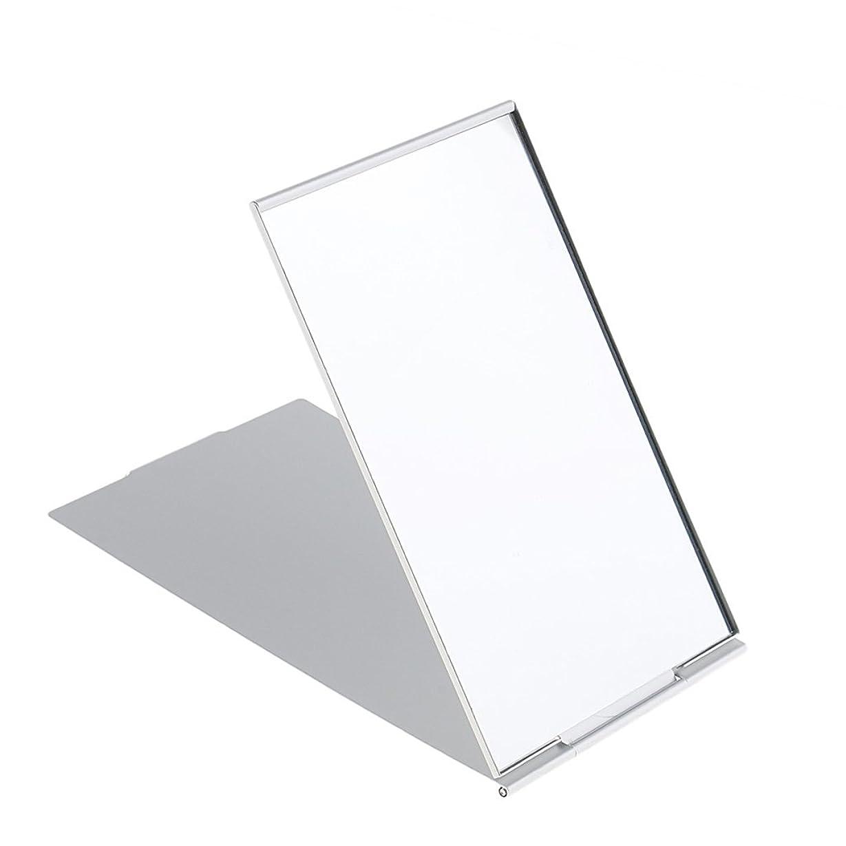 バルセロナ耳道に迷いましたCUTICATE メイクミラー 軽量 折りたたみ ポケット コンパクトミラー トラベル 化粧鏡 全3サイズ - #2