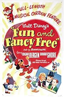 Fun and Fancy Free Movie Poster (27 x 40 Inches - 69cm x 102cm) (1947) Style B -(Walt Disney)(Cliff Edwards)(Billy Gilbert)(Clarence Nash)(Anita Gordon)(Edgar Bergen)