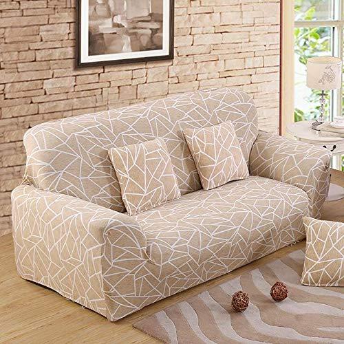 WXQY Funda de sofá elástica para Sala de Estar Funda de sofá seccional Antideslizante Funda de sofá seccional en Forma de L Funda de sillón de Esquina A20 4 plazas