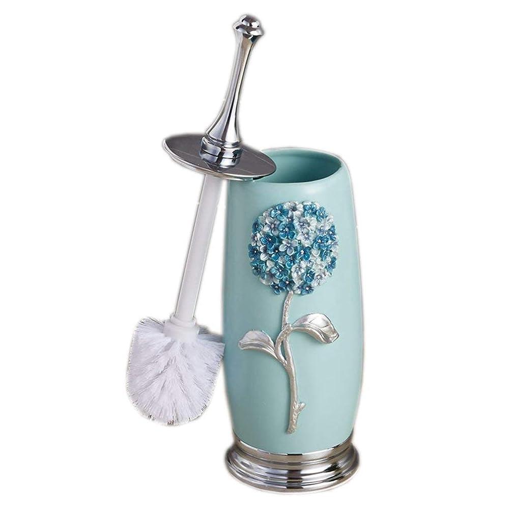 Royarebar Bathroom Accessories Design Loo Brush Toilet Brus European Resin Bathroom Soft Hair Toilet Brush + Trash Barrel (Color : Brush+Rubbish Barrel) (Color : Brush+Rubbish Barrel)