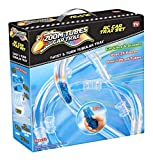 25-Pc RC Car Trax Set with 1 Blue Racer and Over 12ft of Tubes (As Seen on TV)