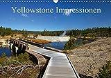Yellowstone Impressionen (Wandkalender 2020 DIN A3 quer): Landschaft, Geysire und heisse Quellen im Yellowstone Nationalpark (Monatskalender, 14 Seiten ) (CALVENDO Natur) - U. Gernhoefer