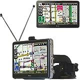 7インチ 液晶モニター搭載 フルセグチューナ(2×2)搭載 ポータブルナビゲーション カーナビ バックカメラ入力対応 DC12V/DC24V対応 オービス警告レーダー機能搭載/住所検索 約3,718万件/一方通行表示対応/電話番号検索約1,000万件(法人のみ) 地デジテレビ フルセグ ワンセグ テレビ GPS
