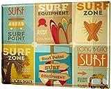 mengliangpu8190 Aluminum Sign, Retro Sign Vintage Tin Sign Metal Wall Plaque Poster Nostalgic Surfer Collection 12' x 18' Metal Sign
