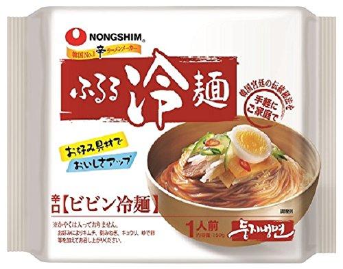 農心 ふるる冷麺 ビビン冷麺 159g×10個