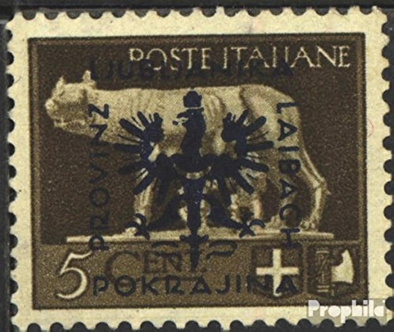 100% precio garantizado Prophila Collection Ljubljana (alemán.ocupación.2.guerra mundial.) 1-20 1-20 1-20 (completa.edición.) 1944 emisión de sobreCochega (sellos para los coleccionistas)  edición limitada