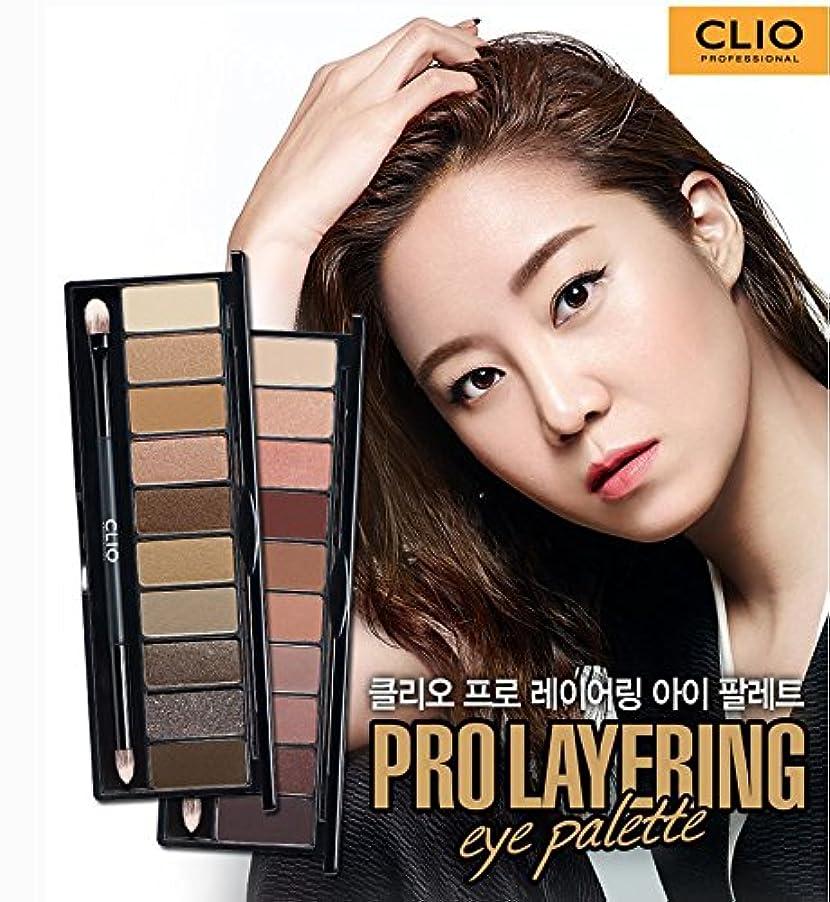 トラフィック機械真珠のようなClio Eye Shadow 10Colors Pro Layering Eye Palette Makeup/[韓国コスメ CLIO] プロ レイヤーリング アイ?パレット (#2 Handcraft) [並行輸入品]