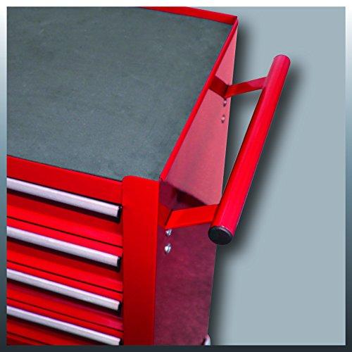Einhell Werkstattwagen TC-TW 100 (max. 75 kg, 4 leichtgängige Schubladen, 4 drehbare Rollen) - 5