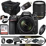 Nikon D7500 20.9MP DSLR Digital Camera with 18-140mm VR Lens - Expo...