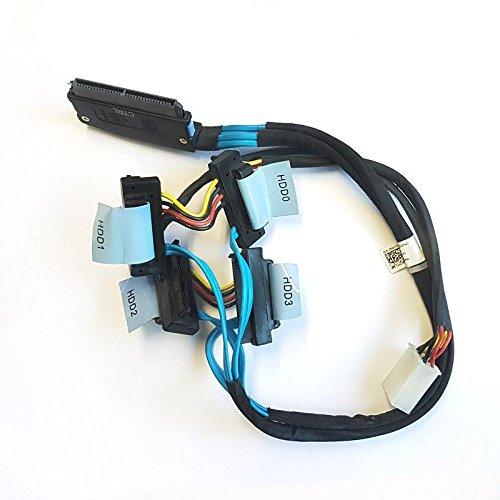 Cable Cordón mantel Dell T3104x Disco Duro SATA SAS RAID 0d385m Perc 6SFF-8484