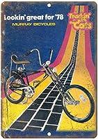 2個 マレー1978自転車ノスタルジック広告ウォールサイン8X12インチ