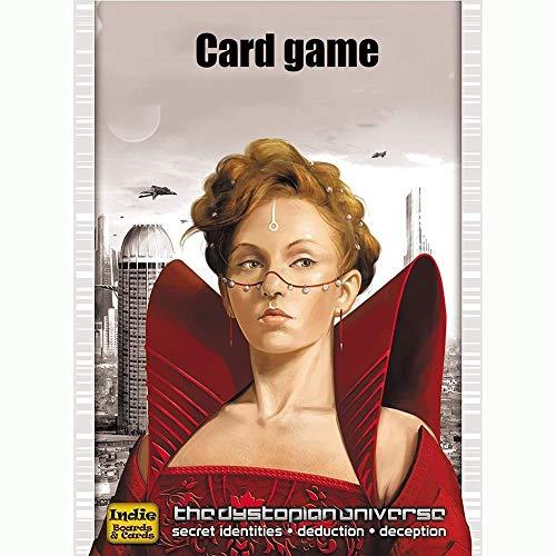 Dciszl Städtische Mutiny Coup Kartenspiel (4-6 Spieler), Spaß Familienfreundliche Set-Sammelspiel, for Kinder, Jugendliche und Erwachsene (Alter 7+)