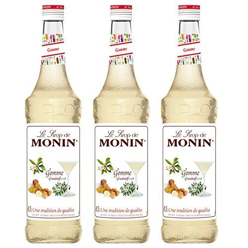 Monin Sirup Gomme, 0,7L 3er Pack