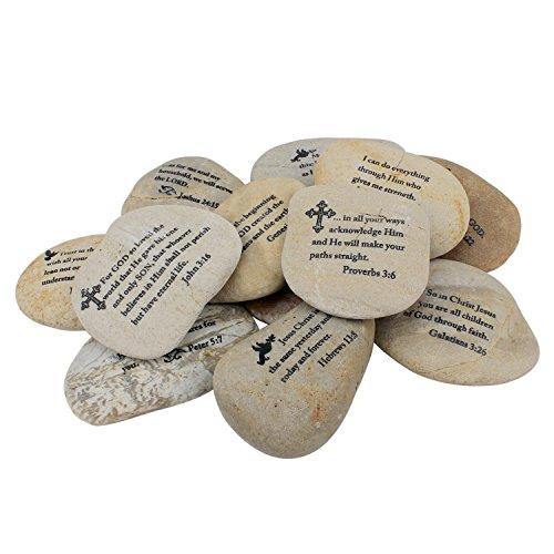 Stonebriar Twelve Large Scripture Rocks