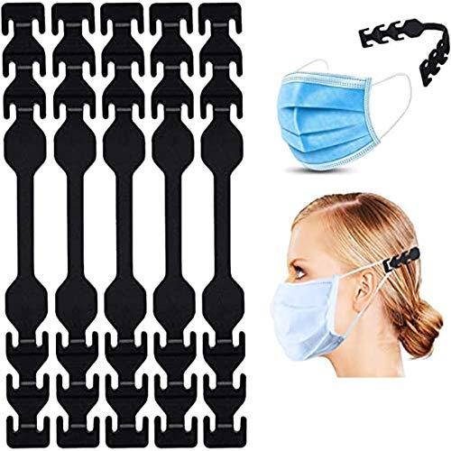 5PCS調節可能な耳ストラップフック、シリコンフック、防滑舒适的挂钩ヘッドベルト 耳掛け 耳プロテクター ...