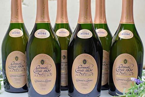 Sieur d'Arques - 6er-Sparpaket Crémant de Limoux Rosé - Grande Cuvée de Aimery 1531 Brut