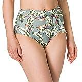 Esprit Panama Beach NYRhigh Waist Brief Bragas de Bikini, 345, 46 para Mujer