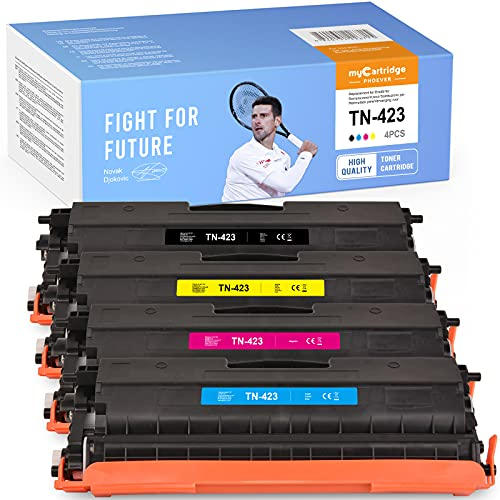 myCartridge PHOEVER Kompatibel für Brother TN-423 TN423 TN-421 TN421 Toner für Brother MFC-L8690CDW MFC-L8900CDW HL-L8260CDW HL-L8360CDW DCP-L8410CDW MFC L8690CDW L8900CDW HL L8360CdW L60