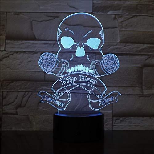 Weihnachtsgeschenk Hip Hop 3D Nachtlicht 7 Farbe Usb Led Licht Tänzer Freunde Geschenk Party Tanz Spiel Lichter Freunde Geschenke Zu Senden