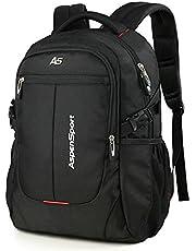 ASPENSPORT パソコンバックパック Laptop Backpack ビジネス リュック 高校生 登山 出張 旅行かばん 通学通勤 スポーツ ギフト