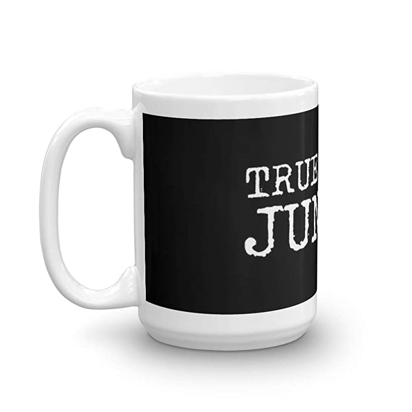 True Crime Junkie 15 Oz White Ceramic