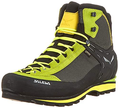 SALEWA Ms Crow GTX, Stivali da Escursionismo Alti Uomo, Verde (Cactus/Sulphur Spring 5320), 42 EU