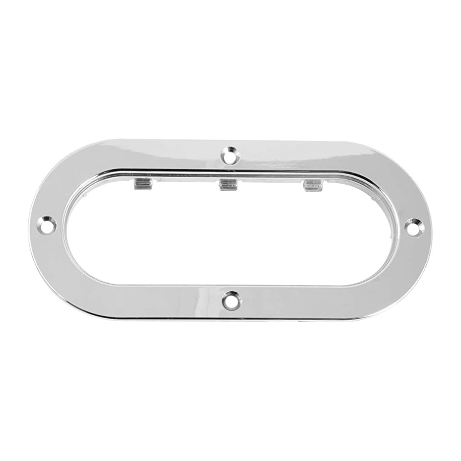 GG Grand General 87200 Sealed Light (Clear Plastic Flange Mount Rim for Oval)